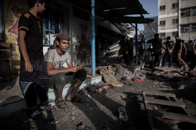 Au moins 16 morts dans une école de l'ONU à Gaza, le 30 juillet