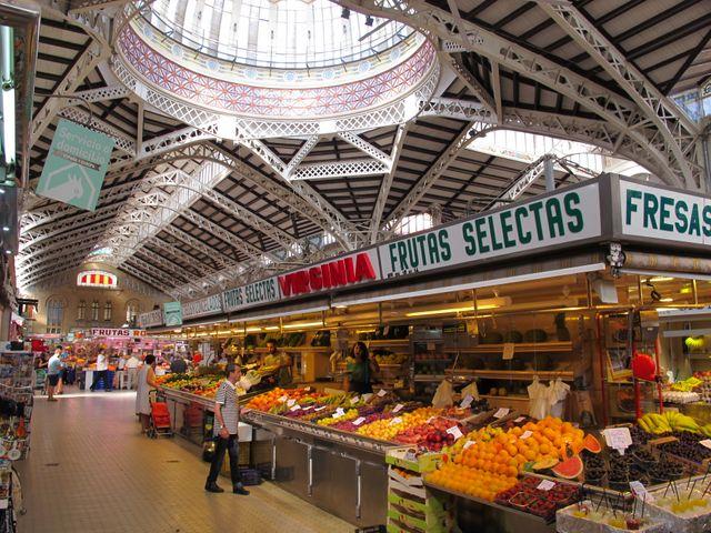 marché de Valence