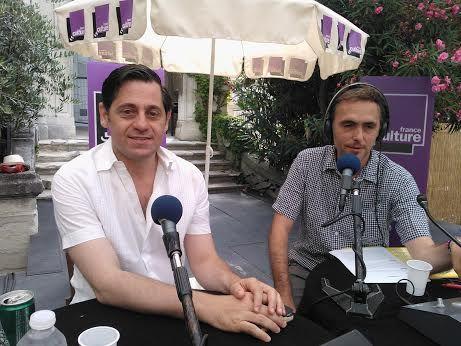 Olivier Py et Xavier de La Porte