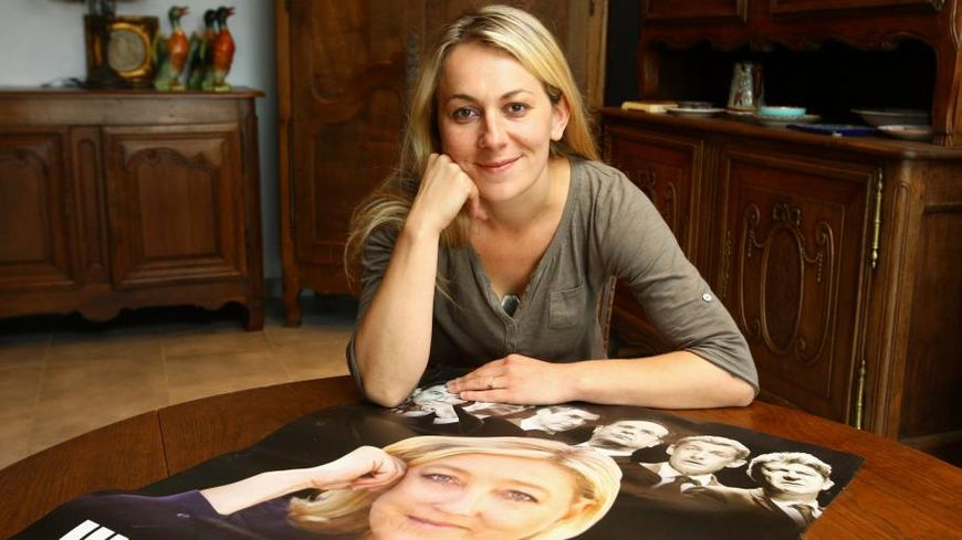 Anne-Leclère a été exclue du FN après avoir montré un photomontage où elle comparait Christiane Taubira à un singe