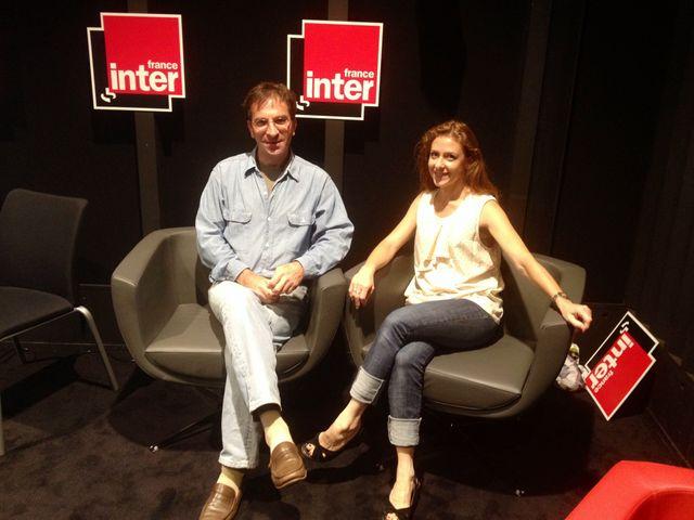 Laurent Flieder & Dominique Lesbros dans les studios