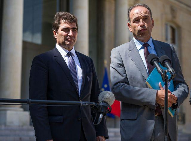 Christian Jacob et Jean-François Copé sont tous les deux mis en cause dans la mauvaise gestion des comptes de l'UMP