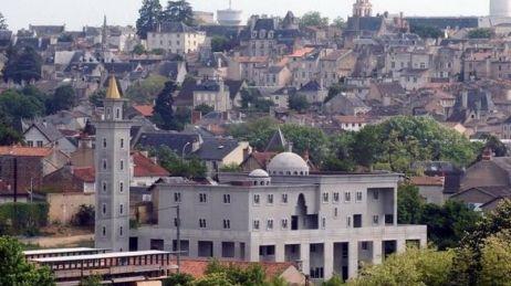 Le chantier de la future mosquée de Poitiers