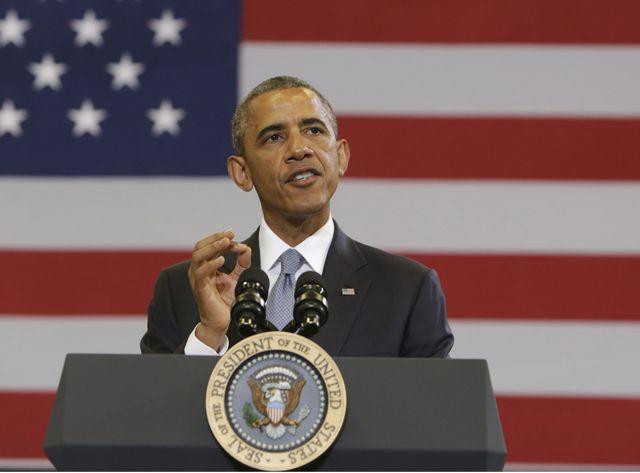Barack Obama a évoqué mardi le financement des pro-russes par la Russie