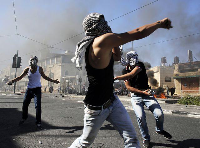 Dans le quartier arabe de Chouafat à Jérusalem
