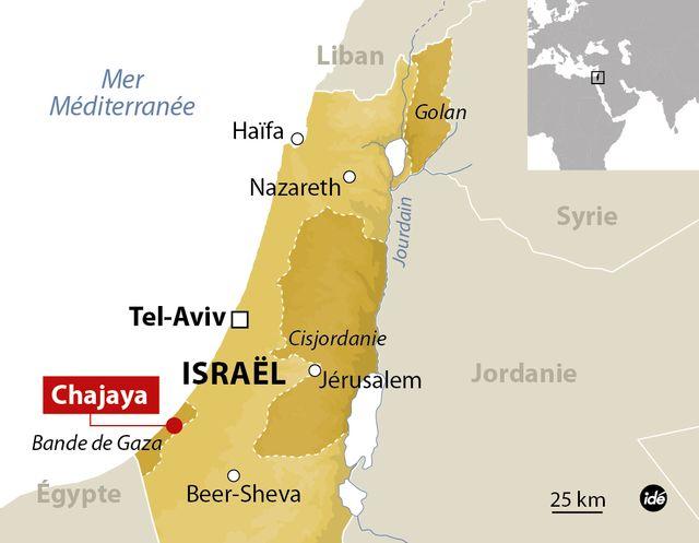 Bombardement sur Gaza