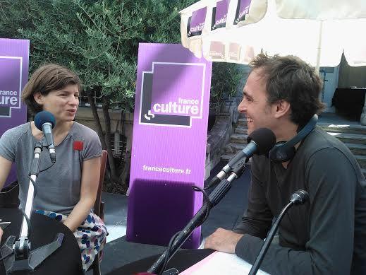 Julie Nioche, chorégraphe et Xavier de La Porte