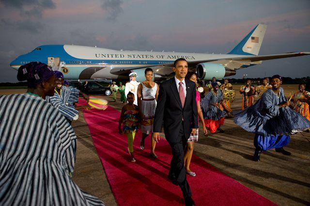 Barack Obama au Ghana
