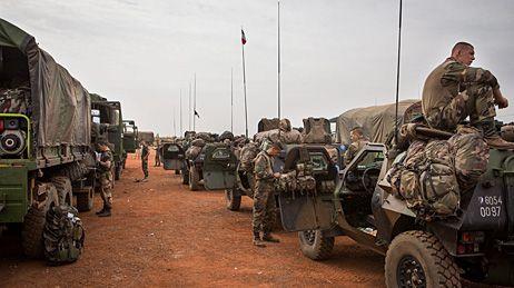 Les troupes françaises engagées au Mali