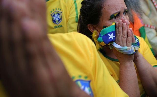 Le Brésil sous le choc
