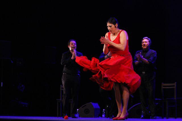 Manuela Carrasco, avec Antonio Canales, à Arte Flamenco le 2 juillet