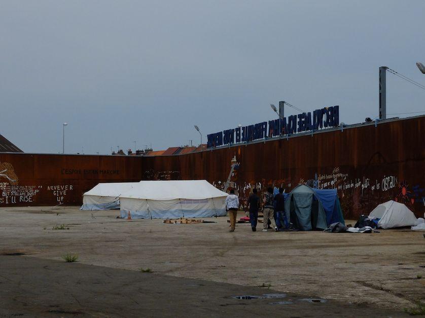 Squat à Calais