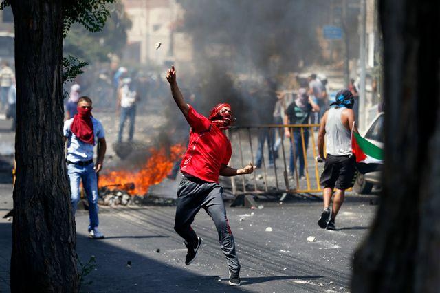 Heurts aux obsèques du jeune palestinien tué