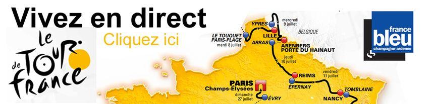 Infographie Tour de France - événement France Bleu Champagne-Ardenne