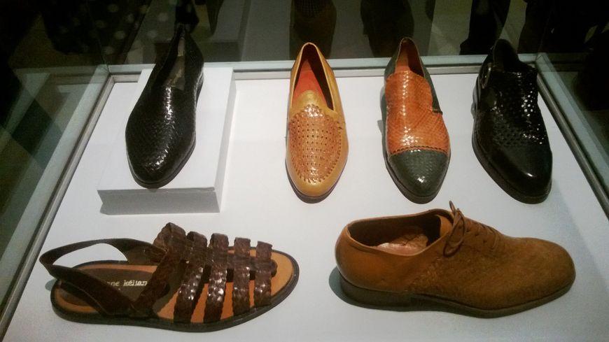 Chaussures Stéphane Kélian, tressées à la main
