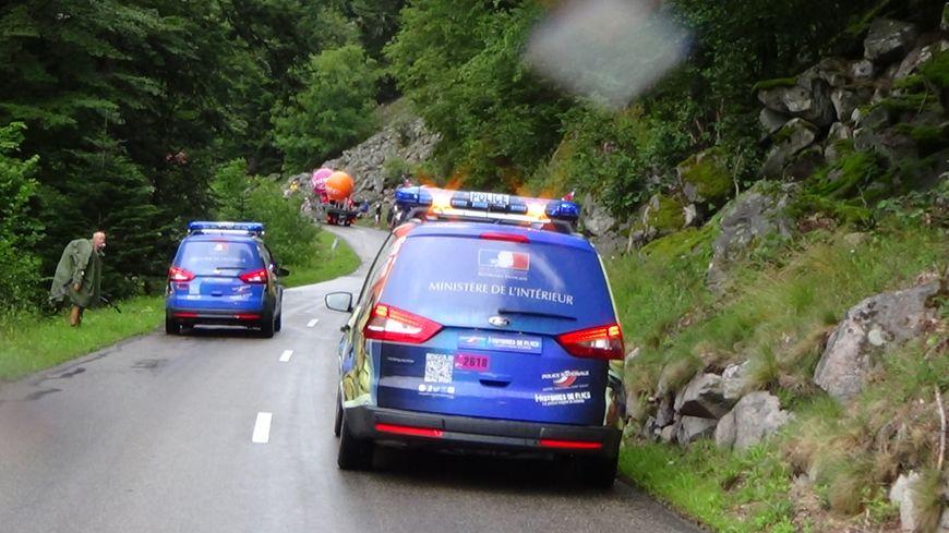 Tour de France 2014 les voitures de police