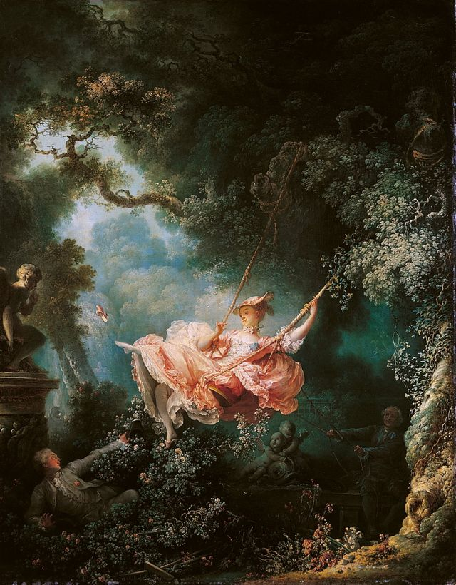 """L'escarlopette"" de Fragonard (1768)"