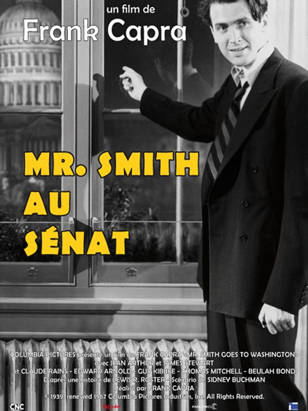 Mr Smith au sénat de Frank Capra