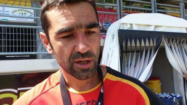 Laurent Frayssinous, entraîneur des Dragons Catalans