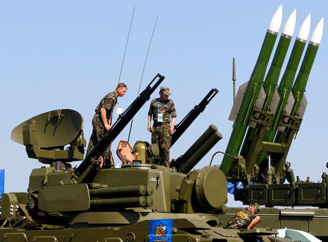 Ces missiles Buk sont de fabrication russe