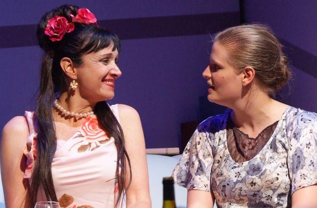 Violette Chauveau et Lindsay Ginepri