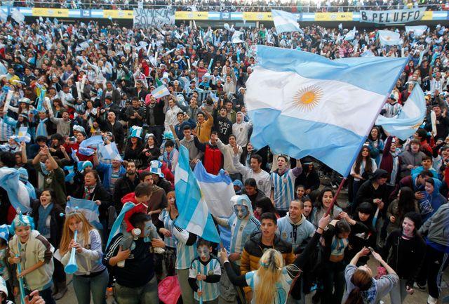 L'Argentine en finale de la Coupe du monde