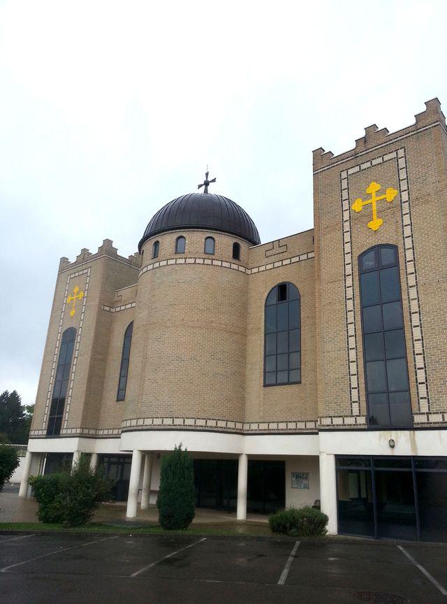 L'eglise Saint-Thomas l'apôtre de Sarcelles
