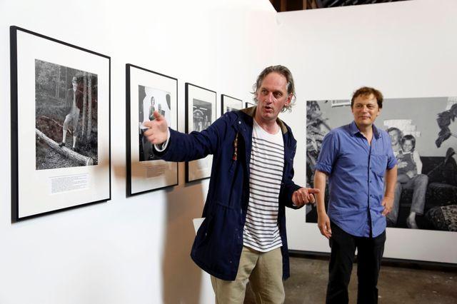 François Hébel présente une exposition des Rencontres d'Arles 2014
