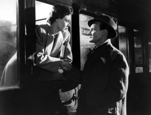 """Scène d'adieu de """"Brève rencontre"""" de David Lean, 1945"""