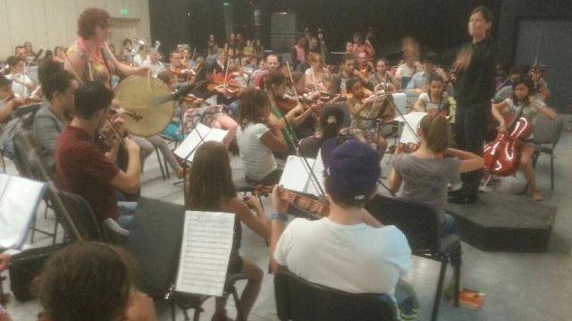 Démos et festival Berlioz : orchestre du nord-isère