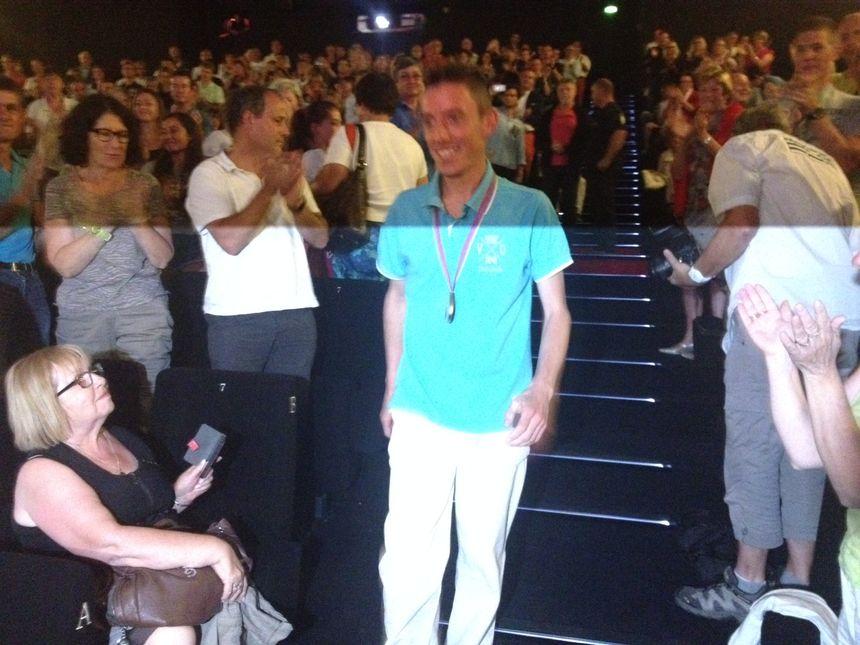 Standing ovation pour Yoann Kowal à Périgueux
