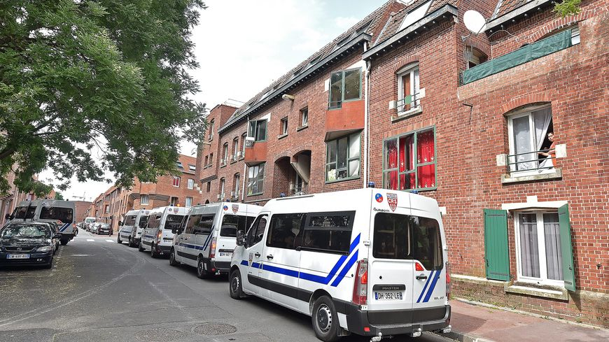 Ahmed a été tué dans son immeuble, rue d'Archimède à Roubaix