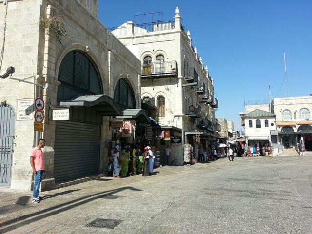 La vieille ville de Jérusalem désertée par les touristes