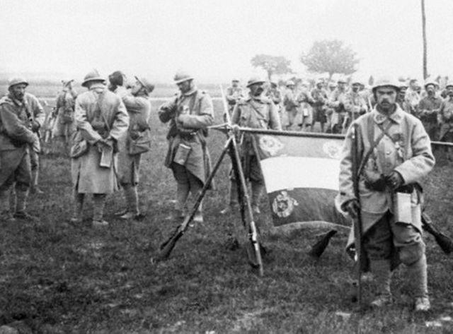 Poilus de la Grande Guerre