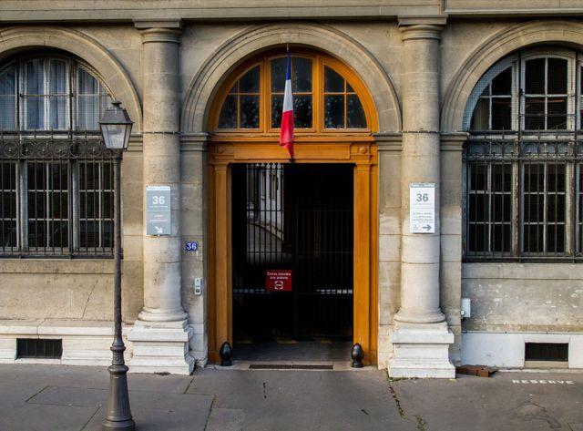 Le siège de la PJ parisienne, 36 Quai des Orfèvres