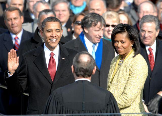 Barack Obama prête serment le 20 janvier 2009