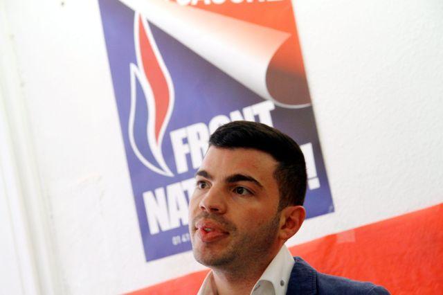 Le controversé maire FN d'Hayange, Fabien Engelmann