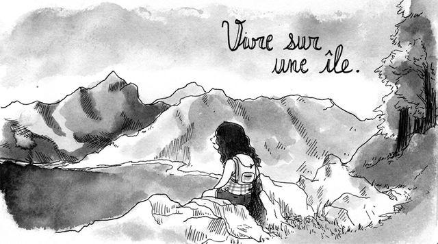Lucie Bryon - Vivre sur une île #1