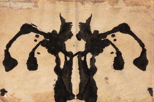 test de Rorschah de Frédéric Martin