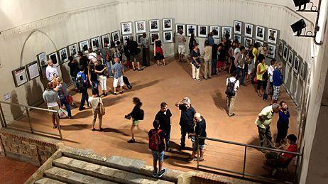 Visiteurs des expositions à Visa pour l'Image