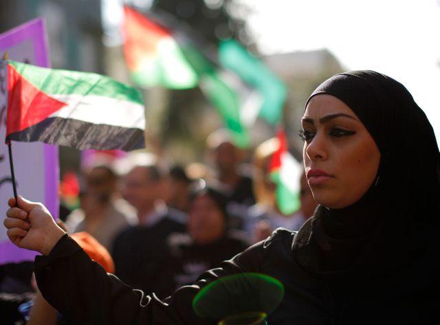 Jeune femme arabe israélienne