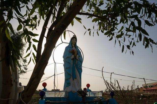Qaraqosh, ville chrétienne d'Irak le 20 juillet 2014