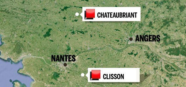Carte du jeu des 1000 euros - Loire Atlantique 2