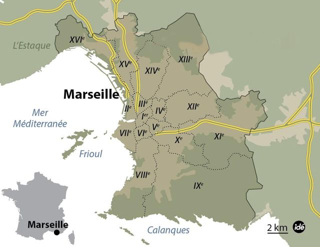 Marseille arrondissements