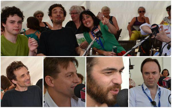Auxane Cartigny, Pierre de Bethmann, Chloé Cailleton, Hugo Lippi, Nicolas Gardel, Laurent Courthaliac © Emmanuelle Lacaze