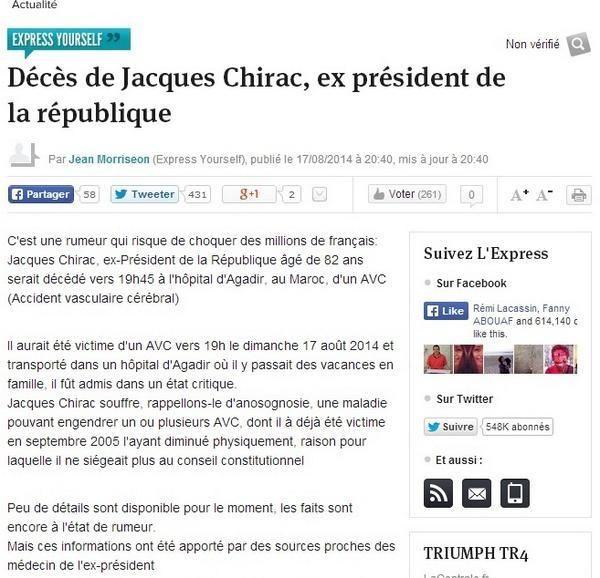 Chirac Yourpress