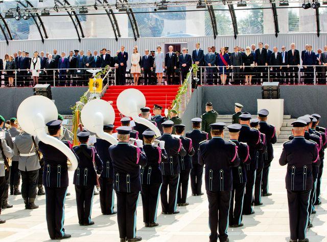 Commémoration 14-18 à Liège avec plus de 80 chefs d'états.