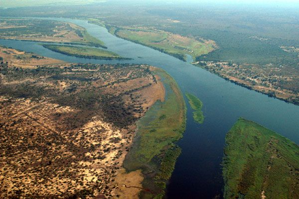 Le fleuve Zambèze