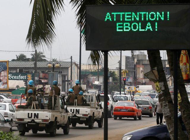 L'Afrique de l'ouest (ici Abidjan, en Côte d'Ivoire) apprend à vivre avec Ebola.