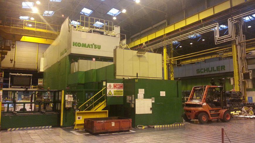 Presse usine PSA Sochaux